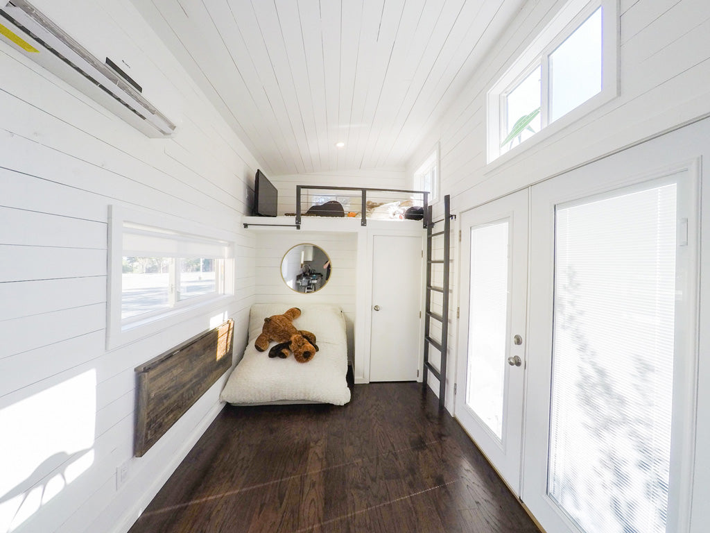 Tiny House Family - Open Living Space