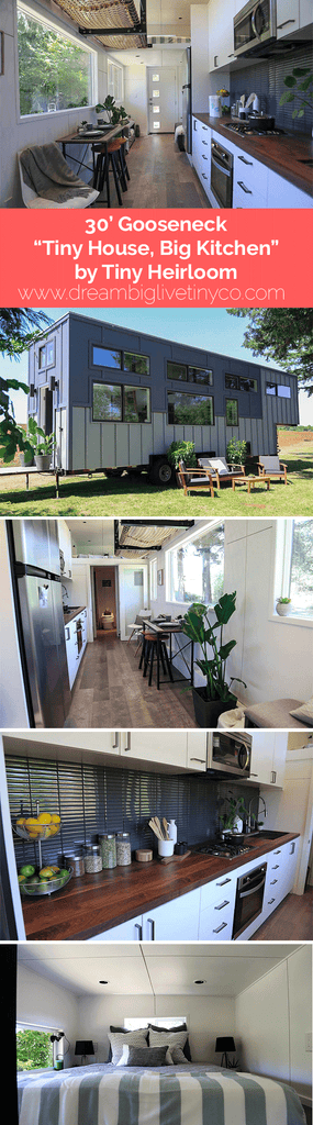 "30' Gooseneck ""Tiny House, Big Kitchen"" by Tiny Heirloom"