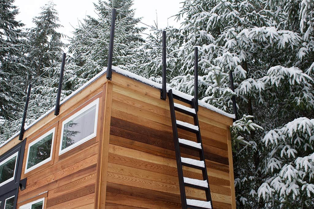 Tiny Home of Zen by Tiny Heirloom - Rooftop Deck