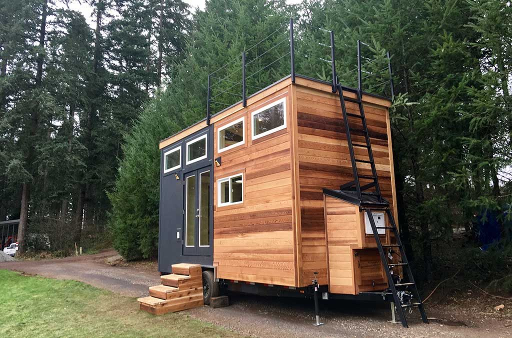 Tiny Home of Zen by Tiny Heirloom - Exterior