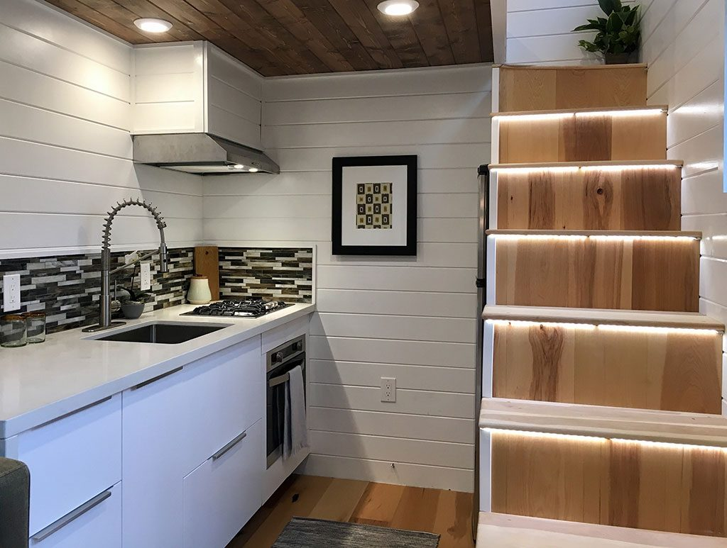 Tiny Home of Zen by Tiny Heirloom - Kitchen