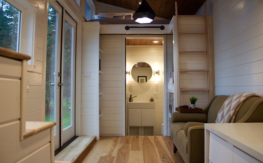 Tiny Home of Zen by Tiny Heirloom - Interior