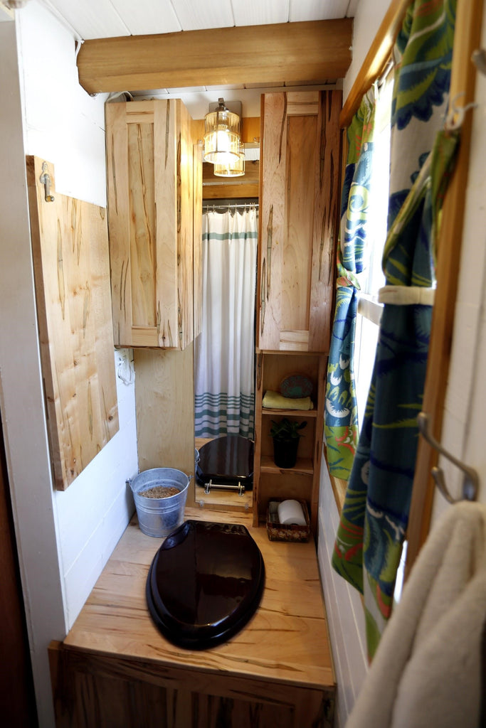 Tiny House Expedition Humanure Toilet