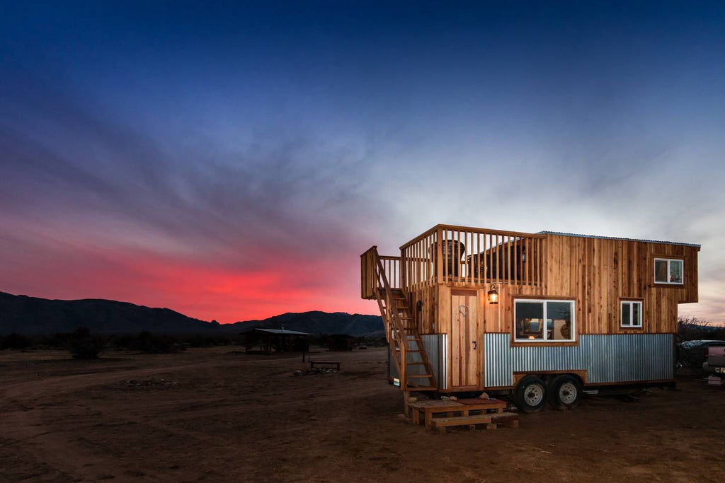 The Peacock Tiny House near Death Valley in Sandy valley, Nevada - Tiny Houses for rent on Airbnb