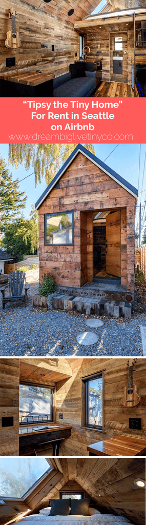 Tipsy the Tiny House For Rent in Seattle on Airbnb