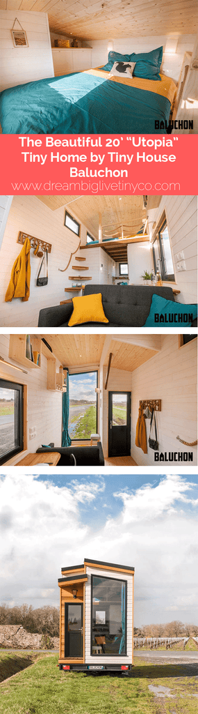 "The Beautiful 20' ""Utopia"" Tiny Home by Tiny House Baluchon"