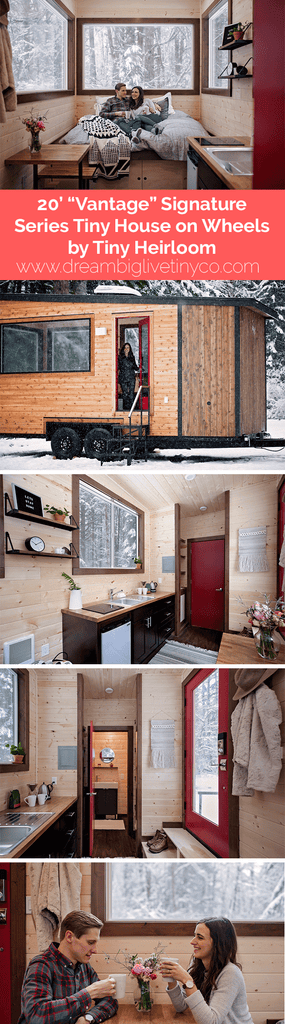 "20' ""Vantage"" Signature Series Tiny House on Wheels by Tiny Heirloom"