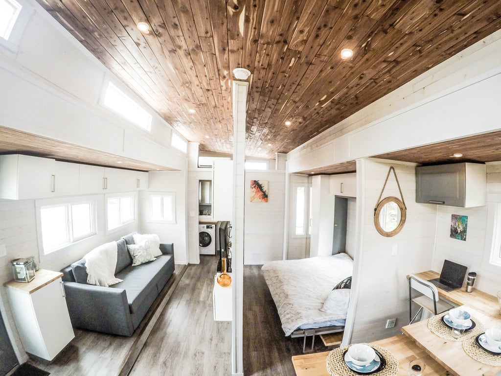 Aurora Expandable Tiny House on Wheels by ZeroSquared Tiny Homes