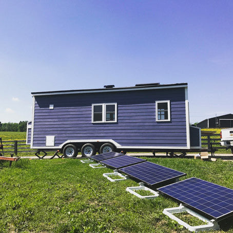 Wandering Tiny Home - Solar Panels
