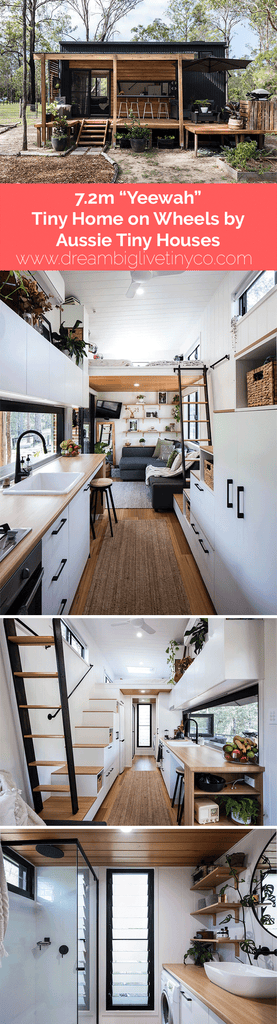 "7.2m ""Teewah"" Tiny Home on Wheels by Aussie Tiny Houses"