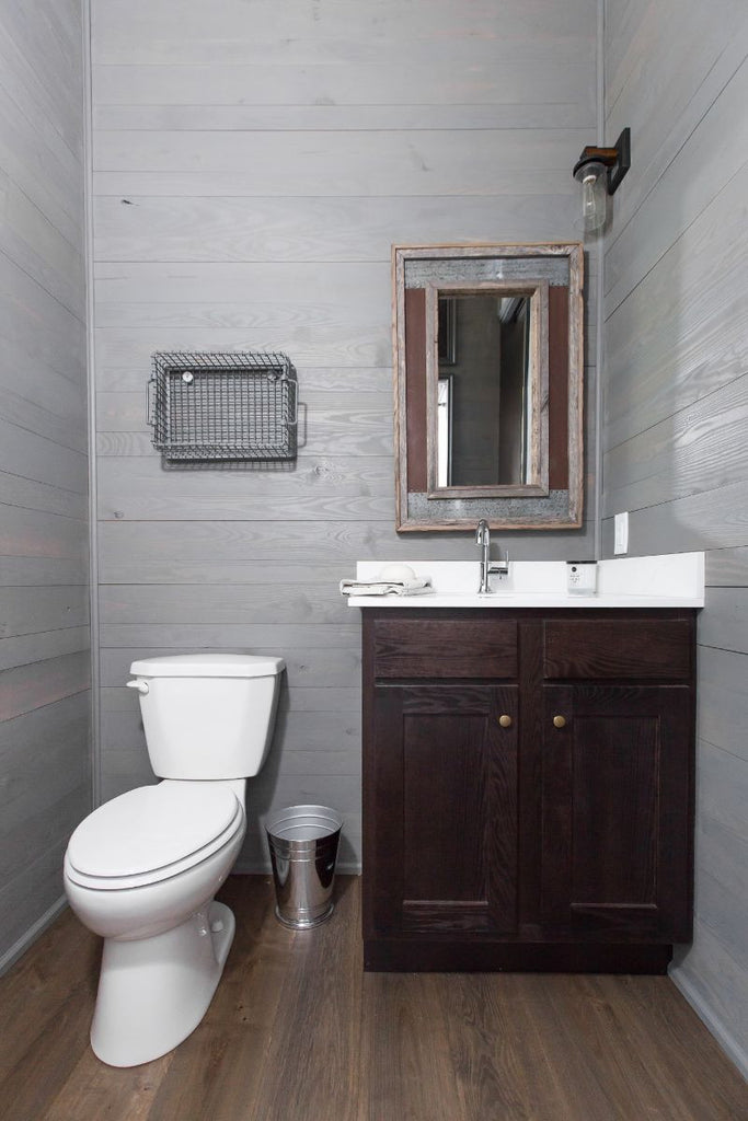 Low Country Tiny Home Bathroom