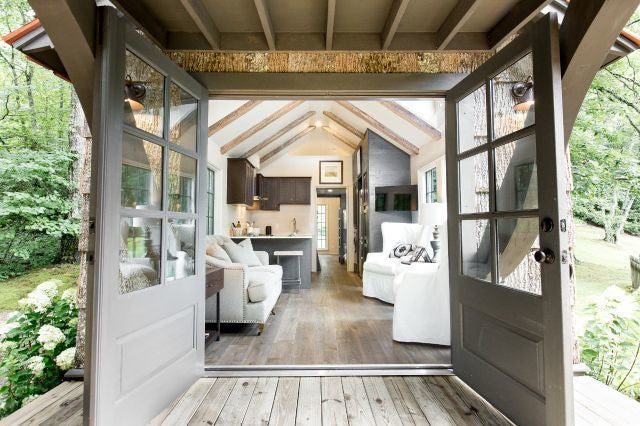 Low Country Tiny Home French Doors