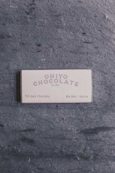 Salted Alto Beni - Bolivian Dark Chocolate