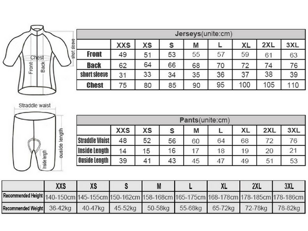 Women Short Sleeve Set Sizing