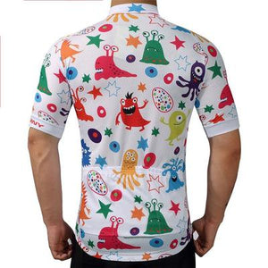 Men's Short Sleeve Cycling Jersey Set - ANIME