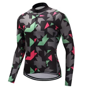 Men's Thermal Cycling Jersey Set - MAILLOT