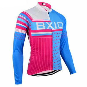 Women's Long Sleeve Cycling Jersey Set - SQUARED