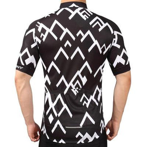Men's Short Sleeve Cycling Jersey Set - PEAK