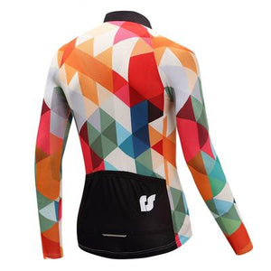 Men's Thermal Cycling Jersey Set - JEWEL