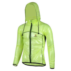 Men's Rainstopper Cycling Jacket - BATTLE