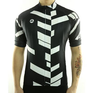 Trendy Cycling Men's Black / S Divided - Men's Short Sleeve Jersey