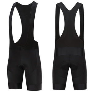 Trendy Cycling Men's ALL BLACK - MEN'S SHORT BIB