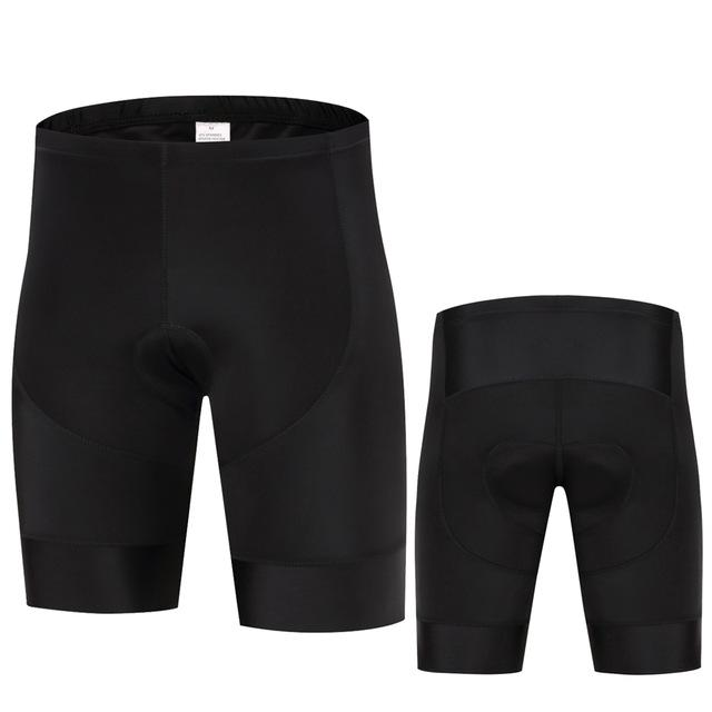 Trendy Cycling Men's ALL BLACK - MEN'S SHORTS