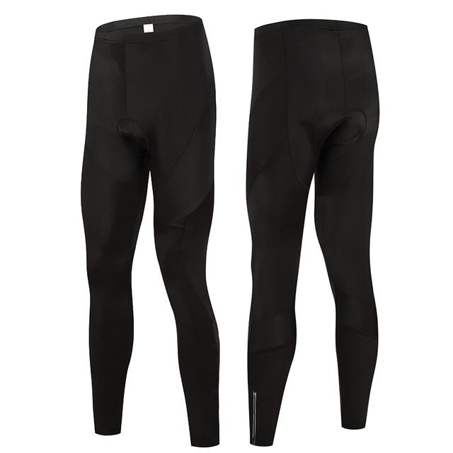 Trendy Cycling Men's Black / XS All Black - Men's Thermal Pants