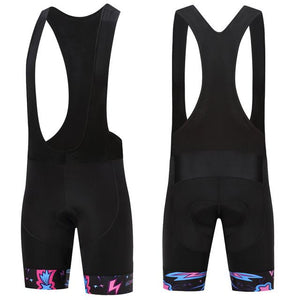 Trendy Cycling Men's Black / XS ILLUMINATION BURST - MEN'S SHORT BIB
