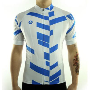 Trendy Cycling Men's Blue / S Divided - Men's Short Sleeve Jersey
