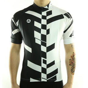 Trendy Cycling Men's Divided - Men's Short Sleeve Jersey