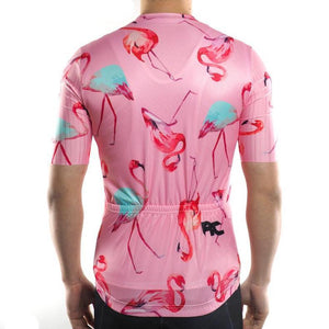 Trendy Cycling Men's Flamingo - Men's Short Sleeve Jersey