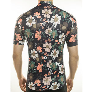Trendy Cycling Men's Flower Power - Men's Short Sleeve Jersey