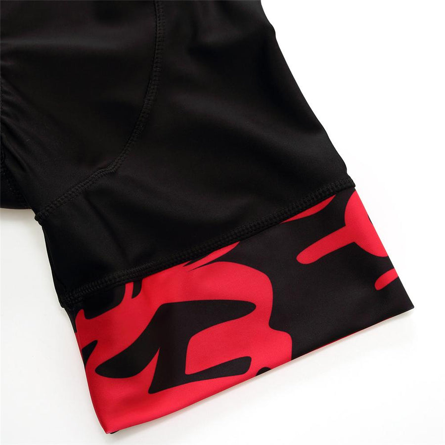 Trendy Cycling Men's Red / XS GRAFFITI - MEN'S SHORTS
