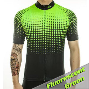 Trendy Cycling Men's GreenYellow / S Disco - Men's Short Sleeve Jersey