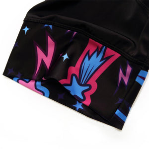 Trendy Cycling Men's ILLUMINATION BURST - MEN'S SHORT BIB