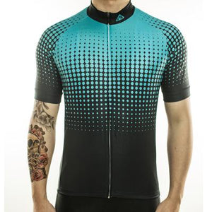 Trendy Cycling Men's LightBlue / S Disco - Men's Short Sleeve Jersey