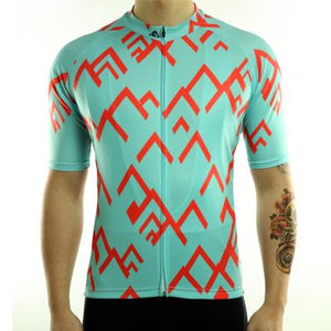 Trendy Cycling Men's LightBlue / S Summit - Men's Short Sleeve Jersey