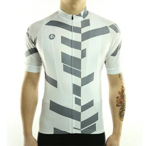 Trendy Cycling Men's LightSlateGrey / S Divided - Men's Short Sleeve Jersey