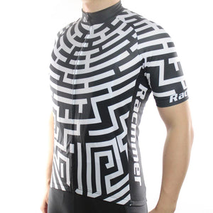 Trendy Cycling Men's Maze Run - Men's Short Sleeve Jersey