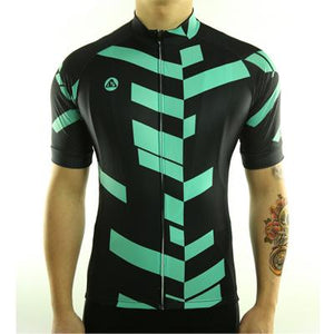 Trendy Cycling Men's MediumSpringGreen / S Divided - Men's Short Sleeve Jersey