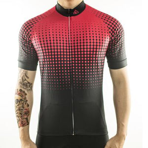 Trendy Cycling Men's Red / S Disco - Men's Short Sleeve Jersey