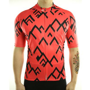 Trendy Cycling Men's Salmon / S Summit - Men's Short Sleeve Jersey