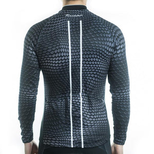 Trendy Cycling Men's Snake - Men's Long Sleeve Jersey