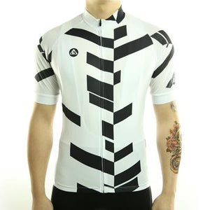 Trendy Cycling Men's White / S Divided - Men's Short Sleeve Jersey
