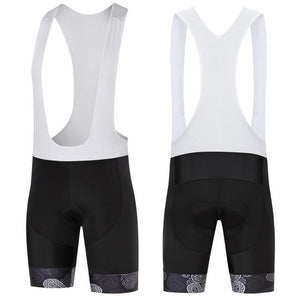 Trendy Cycling Men's White / S SKULL - MEN'S SHORT BIB