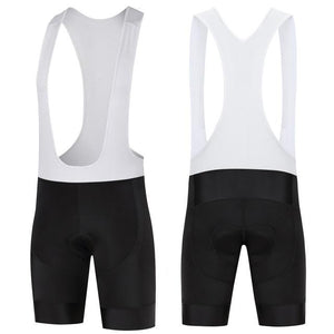 Trendy Cycling Men's White / XS ALL BLACK - MEN'S SHORT BIB