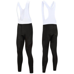 Trendy Cycling Men's White / XS All Black - Men's Thermal Bib