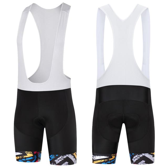 Trendy Cycling Men's Black / XS COLOR DAZE - MEN'S SHORT BIB