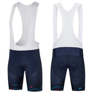 Trendy Cycling Men's White / XS FLOURISH - MEN'S SHORT BIB